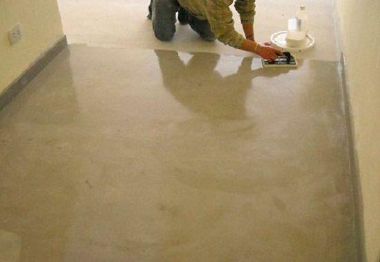 C mo controlar la humedad en un piso de concreto - Controlar humedad en casa ...