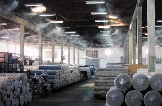 Importancia del control de humedad en la industria textil