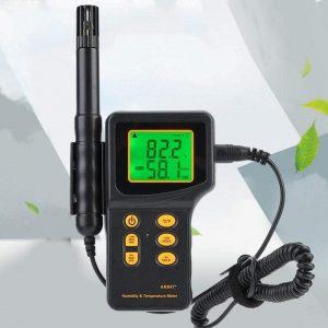 Dispositivo para revisar el control de humedad