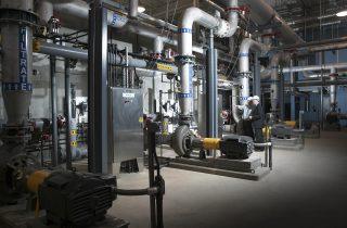 Ahorrar dinero con deshumidificador industrial controlando la humedad excesiva en plantas de tratamiento de agua
